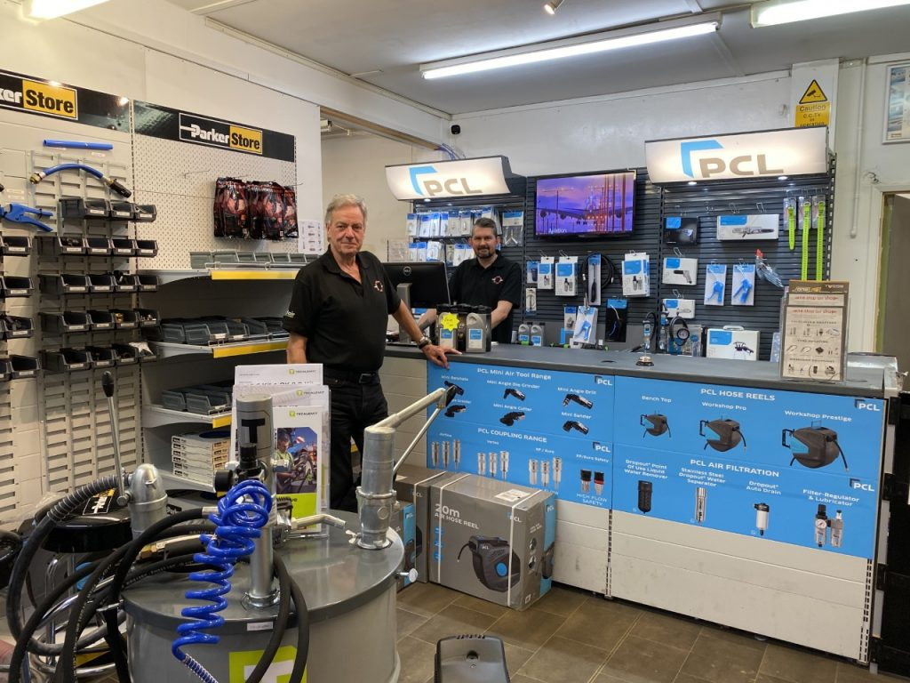 inside one stop air shop surrey
