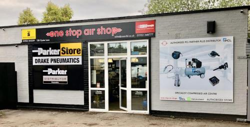 Outside One Stop Air Shop